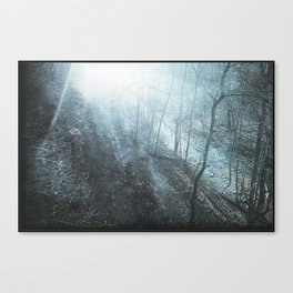 The Faded Day - surreal landscape photography Canvas Print