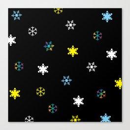 Snowflakes_C Canvas Print