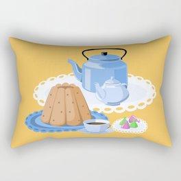Time to drink tea Rectangular Pillow