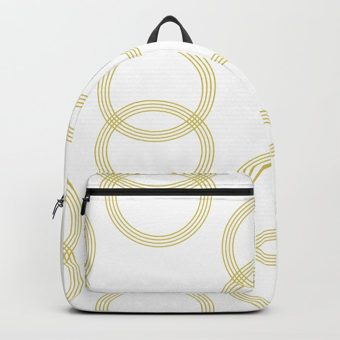 Simply Infinity Link Mod Yellow and White Backpack