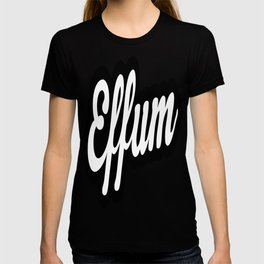 Effum logo word T-shirt