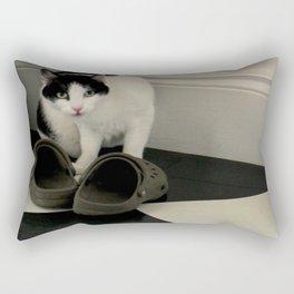 How Low Can YOU Go? Rectangular Pillow
