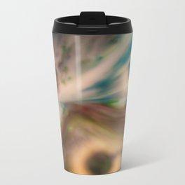 Liquid Abstract Metal Travel Mug