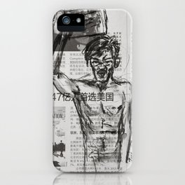 Protest 1 iPhone Case