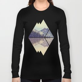 Mountain Reflection Long Sleeve T-shirt