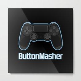 Button masher. Metal Print