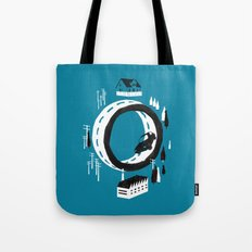 The Suburbs Tote Bag
