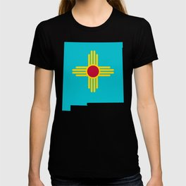 Turquoise New Mexico T-shirt