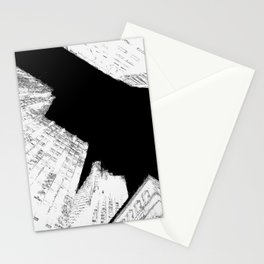 Drawing of Buildings in San Francisco Stationery Cards