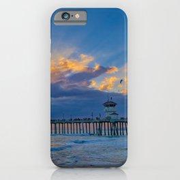 Sunset Sunburst iPhone Case