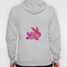 Little Bunny No. 1c by kathy Morton Stanion Hoody