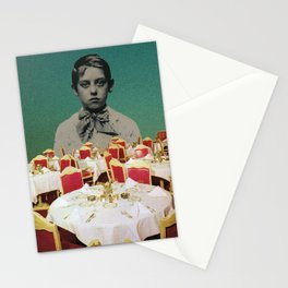 """two empty rooms"" by Pedro Aires Stationery Cards"