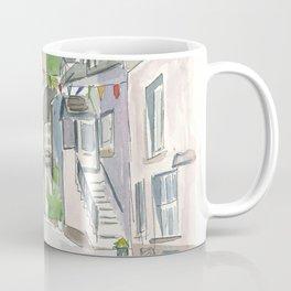 Cornwall Little Town Street View Coffee Mug