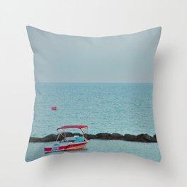 Between Sea and Sky Throw Pillow