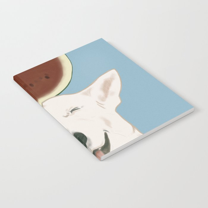 Watermelon doggy smile Notebook