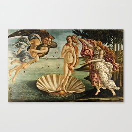 Botticelli  -  The Birth Of Venus Canvas Print