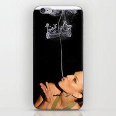 smoke crown iPhone & iPod Skin