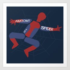 Anatomy of a Spider Art Print