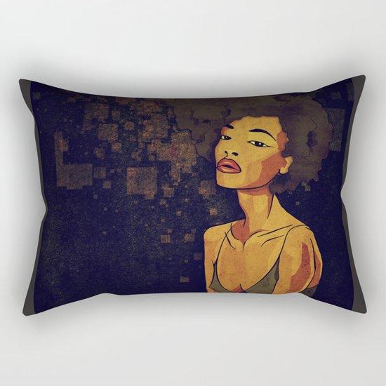 afro - Soul Rectangular Pillow