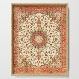 Bohemian Traditional Moroccan Style Artwork Serving Tray