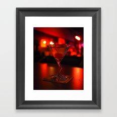 Vodka-based vision Framed Art Print