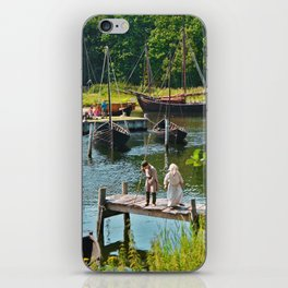 Old Viking Boats iPhone Skin