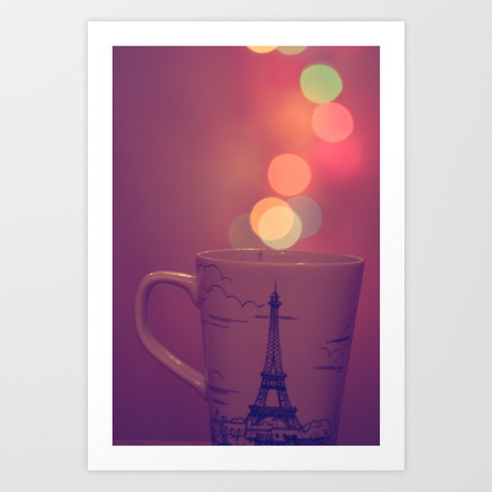 Cup Full of Bokeh Art Print
