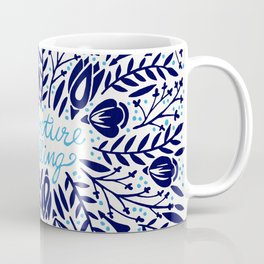 Adventure is Calling – Porcelain Palette Coffee Mug
