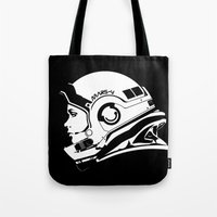 astronaut Tote Bags featuring Astronaut by Sventine