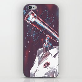 Mesearcher iPhone Skin