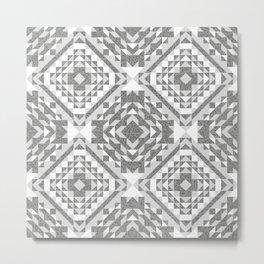 Monochrome Grays. Metal Print