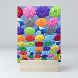 Myriads of Umbrellas Mini Art Print