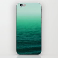 Deep Aqua Waves iPhone & iPod Skin