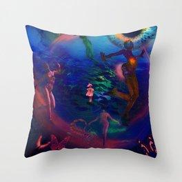 Ecology Dancer Throw Pillow