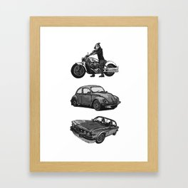 Speed-shoppe Framed Art Print