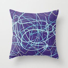 Cold Frustration Throw Pillow