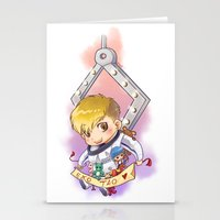 exo Stationery Cards featuring EXO Tao dreamcatcher by Rei Lydia