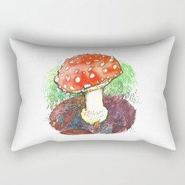 The Perfect Mushroom Rectangular Pillow