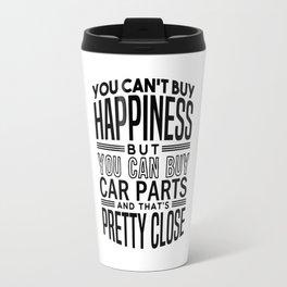 Happiness is car parts Travel Mug