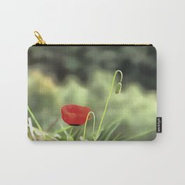 One Poppy Carry-All Pouch