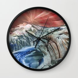Morphing obscure horizons into shifting emotions Wall Clock
