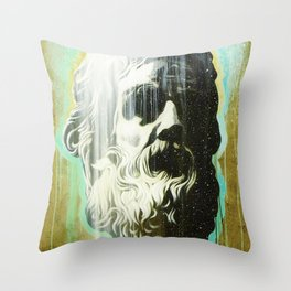 HOLYGHOSTFACE Throw Pillow