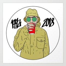 Mac Miller R.I.P 1992 - 2018 Art Print