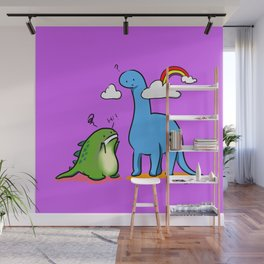 Talking Dinosaurs - Height Issue Wall Mural