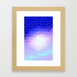large tiles Framed Art Print