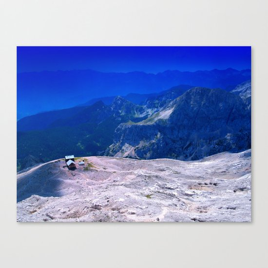 On the Top Canvas Print