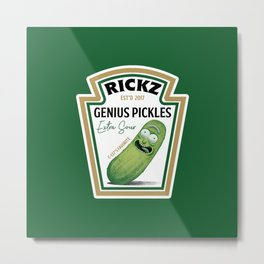 Rickz Pickles Metal Print