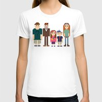 gravity falls T-shirts featuring Gravity Falls 8-bit by Evelyn Gonzalez