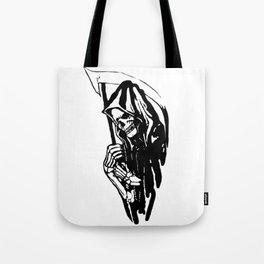 THE GRIM REAPER MR DEATH Tote Bag