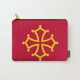 Midi Pyrenees france country region flag Carry-All Pouch